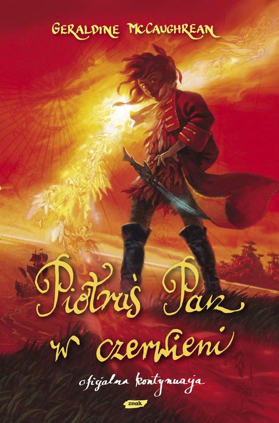 okładka Piotruś Pan w czerwieni, Książka | Geraldine McCaughrean