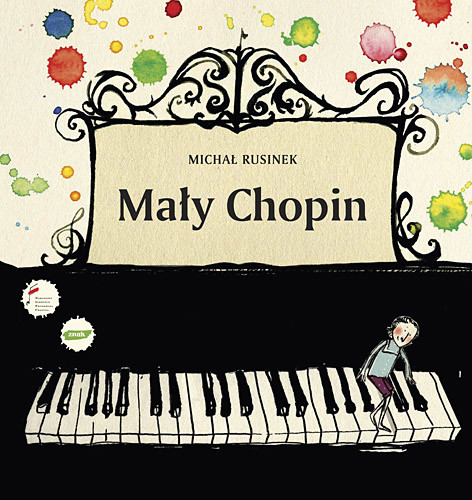 okładka Mały Chopin, Książka | Michał Rusinek