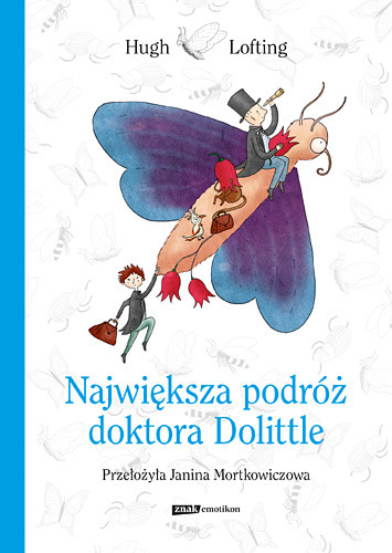 okładka Największa podróż doktora Dolittle, Książka | Hugh Lofting