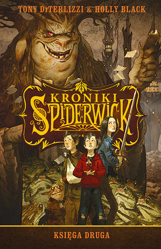 okładka Kroniki Spiderwick. Księga druga, Książka | DiTerlizzi Tony, Black Holly