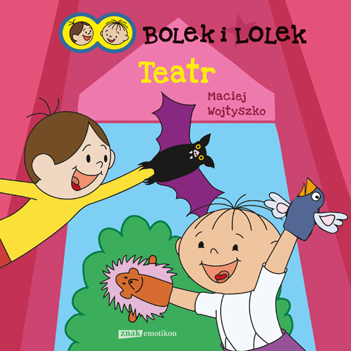 okładka Bolek i Lolek. Teatr, Książka | Maciej Wojtyszko
