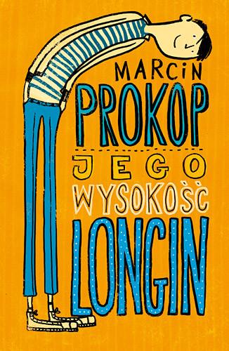 okładka Jego Wysokość Longin, Książka | Marcin Prokop