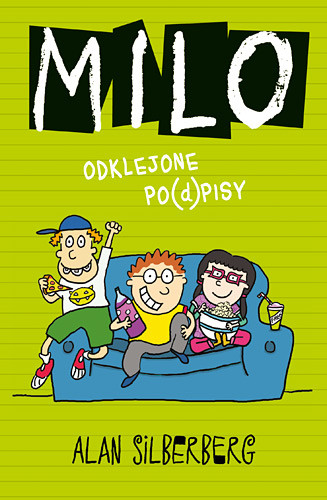 okładka Milo. Odklejone po(d)pisy, Książka | Alan Silberberg