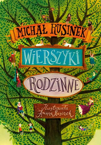 okładka Wierszyki rodzinne, Książka | Rusinek Michał