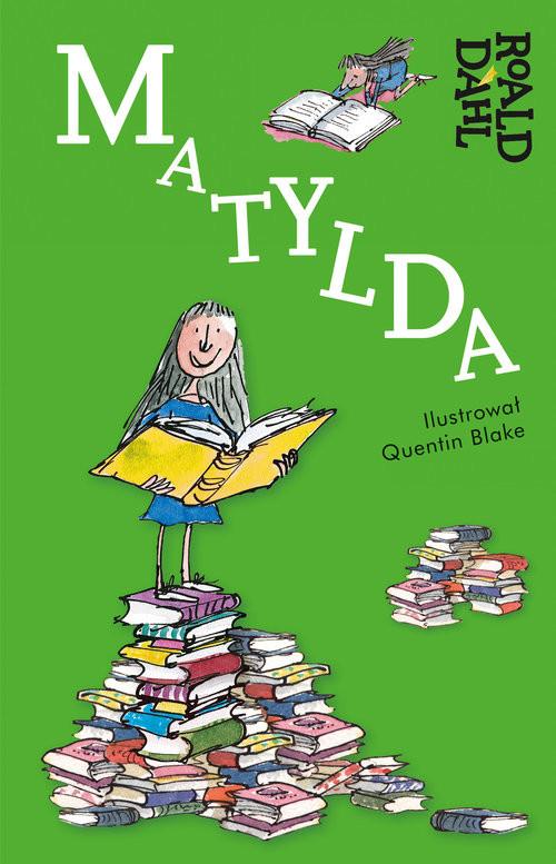 okładka Matylda, Książka | Dahl Roald