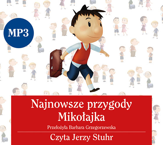 okładka Audiobook. Najnowsze przygody Mikołajka, Książka |