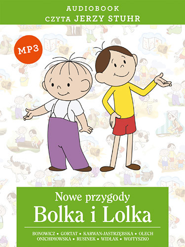 okładka Audiobook. Nowe przygody Bolka i Lolka, Książka | Bonowicz... Wojciech