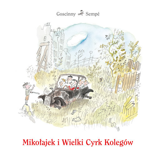 okładka Mikołajek i Wielki Cyrk Kolegów, Książka | Goscinny Rene, Sempé Jean-Jacques
