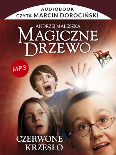 okładka Audiobook. Magiczne Drzewo. Czerwone krzesło, Książka | Andrzej Maleszka