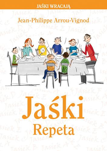 okładka Jaśki. Repeta, Książka | Jean-Philippe Arrou-Vignod