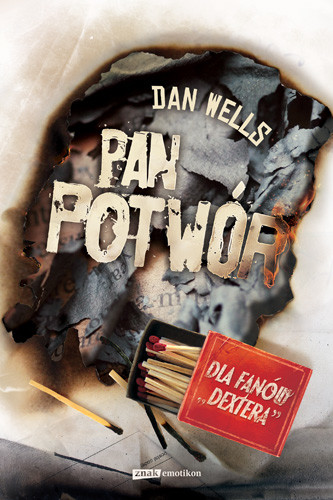 okładka Pan Potwórksiążka |  | Wells Dan