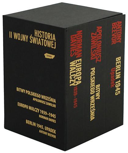 okładka Ekskluzywny pakiet trzech bestsellerów historycznych , Książka | Antony Beevor, Norman Davies, ... Apoloniusz