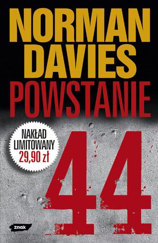 okładka Powstanie 44 (wyd. pocket)/broszura/, Książka | Norman Davies