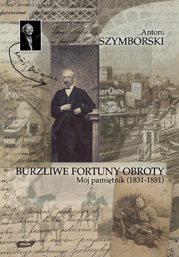 okładka Burzliwe fortuny obroty, Książka | Szymborski Antoni