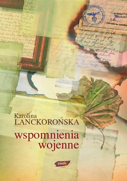 okładka Wspomnienia wojenne , Książka | Lanckorońska Karolina