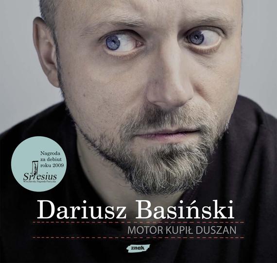 okładka Motor kupił Duszanksiążka      Basiński Dariusz