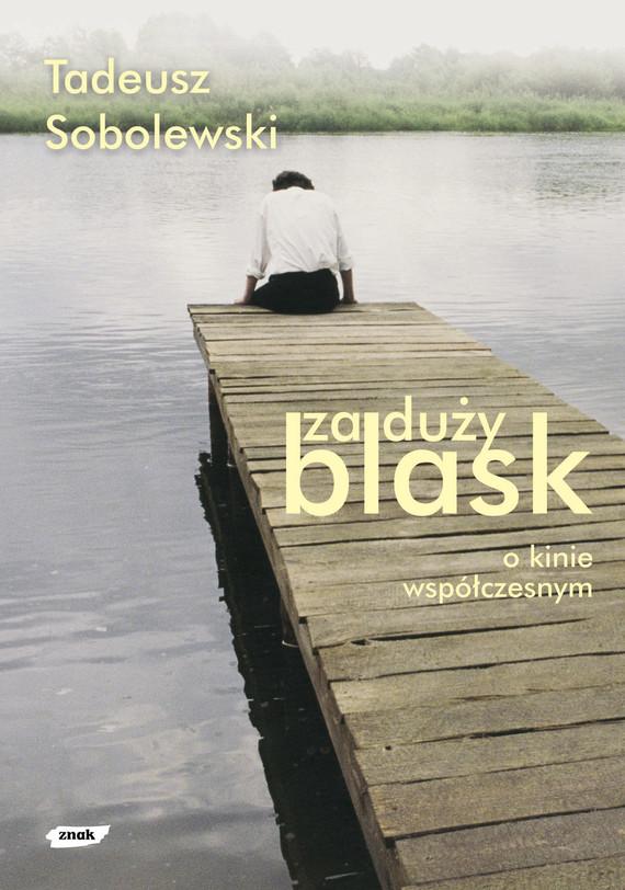okładka Za duży blask. O kinie współczesnym , Książka | Tadeusz Sobolewski