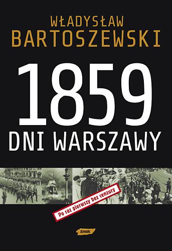 okładka 1859 dni Warszawy, Książka | Bartoszewski Władysław
