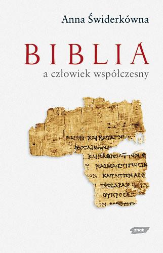 okładka Biblia a człowiek współczesny, Książka | Anna Świderkówna