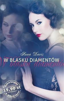 okładka W blasku diamentów, Książka | Davis Anna
