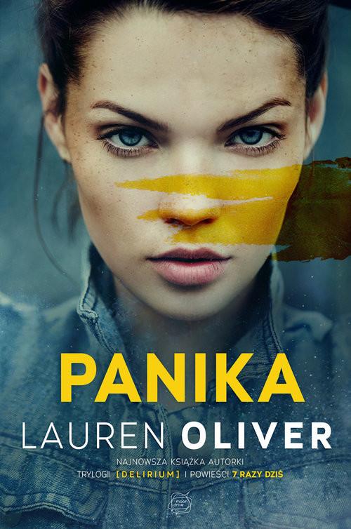 okładka Panika, Książka | Oliver Lauren