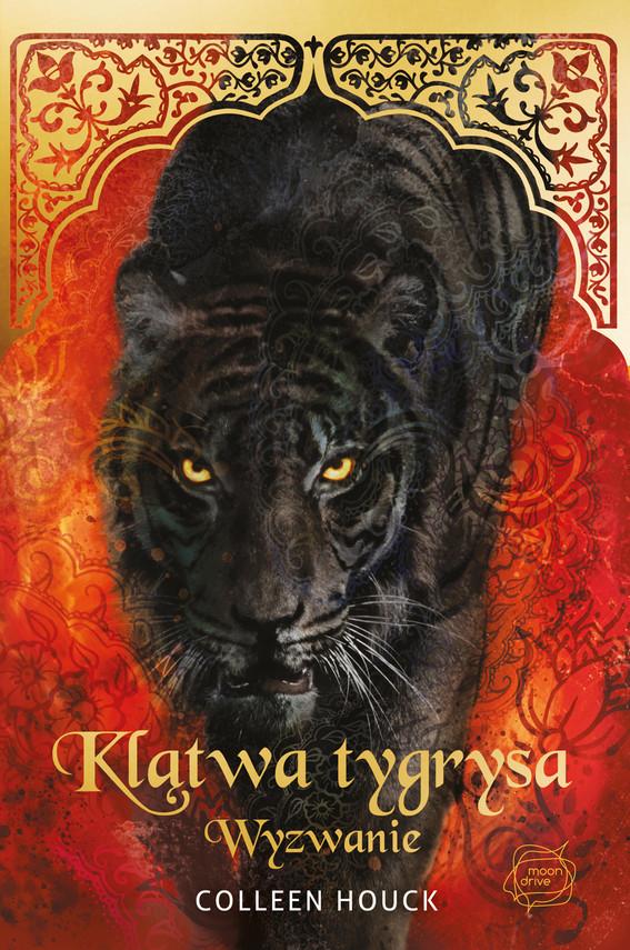 okładka Klątwa tygrysa. Wyzwanie, Książka   Houck Colleen