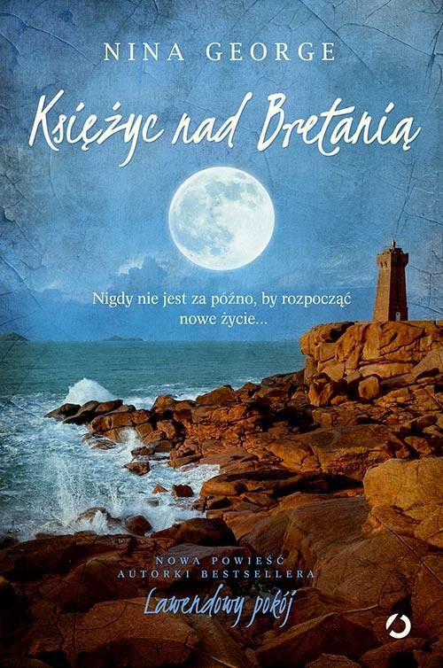 okładka Księżyc nad Bretanią, Książka | Nina George