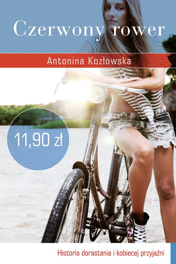 okładka Czerwony rower, Książka | Kozłowska Antonina