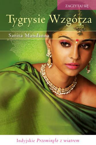 okładka Tygrysie Wzgórzaksiążka      Mandanna Sarita