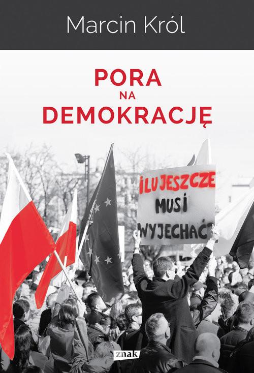 okładka Pora na demokrację, Książka | Marcin Król