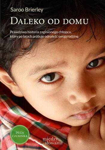 okładka Daleko od domu, Książka | Saroo Brierley