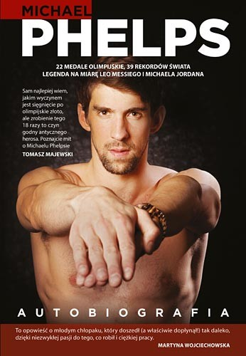 okładka Autobiografia, Książka | Phelps Michael