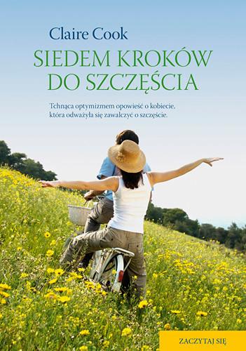 okładka Siedem kroków do szczęścia , Książka | Cook Claire