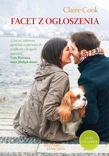 okładka Facet z ogłoszenia , Książka | Cook Claire