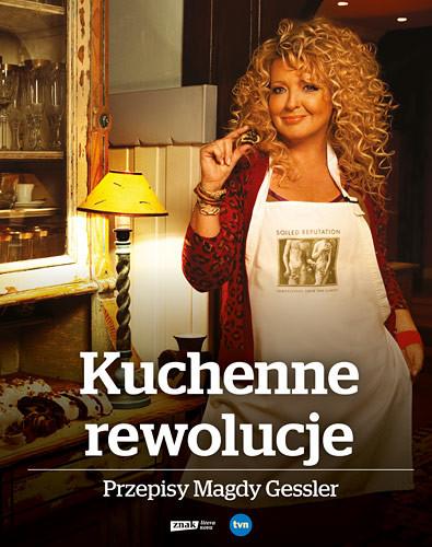 okładka Kuchenne rewolucje. Przepisy Magdy Gessler , Książka | Magda Gessler