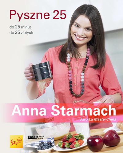 okładka Pyszne 25książka      Starmach Anna