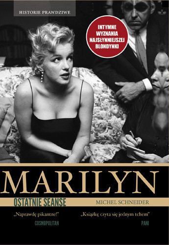 okładka Marilyn, ostatnie seanse, Książka | Schneider Michel