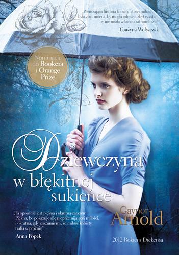 okładka Dziewczyna w błękitnej sukience, Książka | Arnold Gaynor