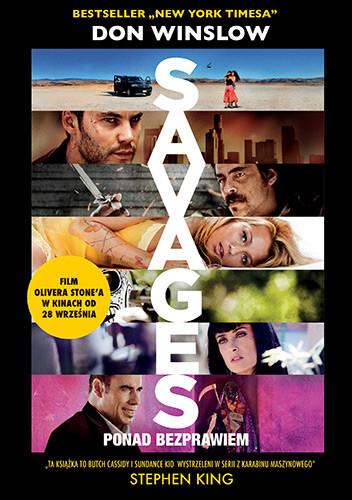 okładka Savages: ponad bezprawiem, Książka | Winslow Don
