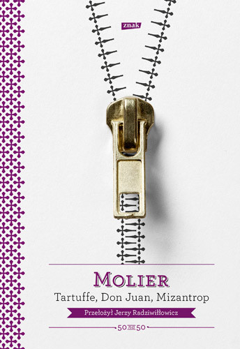 okładka Tartuffe, Don Juan, Mizantrop, Książka | Molier