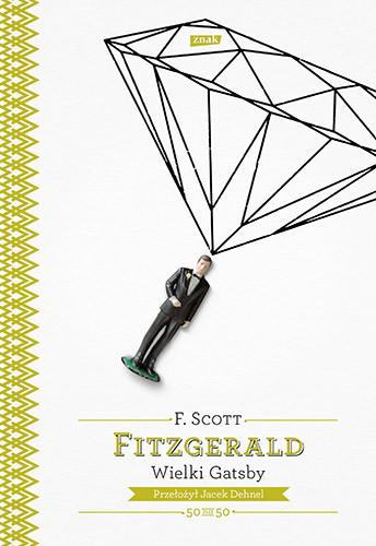 okładka Wielki Gatsby, Książka | Scott  Fitzgerald Francis