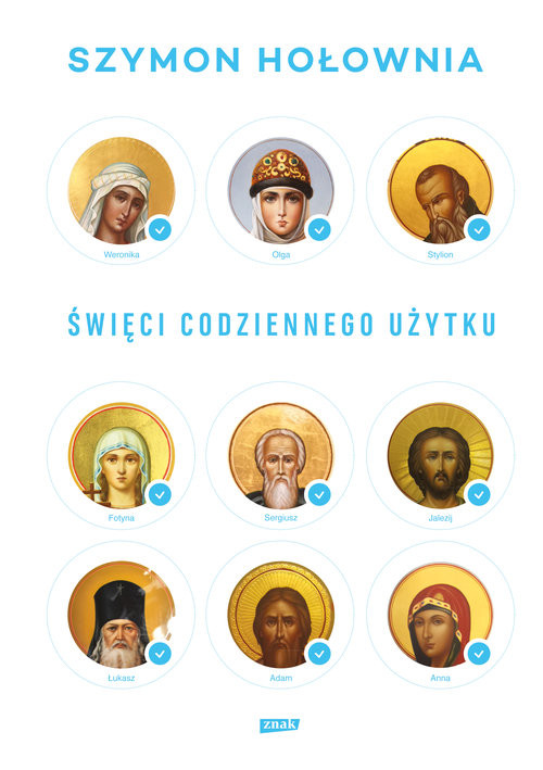 okładka Święci codziennego użytku, Książka | Hołownia Szymon