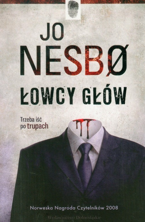 okładka Łowcy głów, Książka | Nesbo Jo