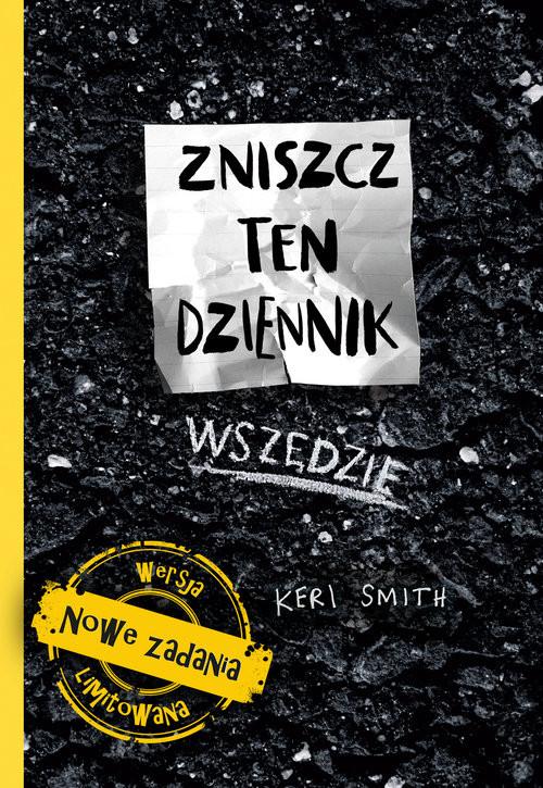 okładka Zniszcz ten dziennik wszędzie, Książka | Smith Keri
