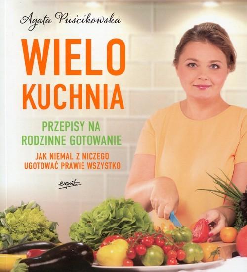 okładka Wielokuchnia, Książka | Puścikowska Agata