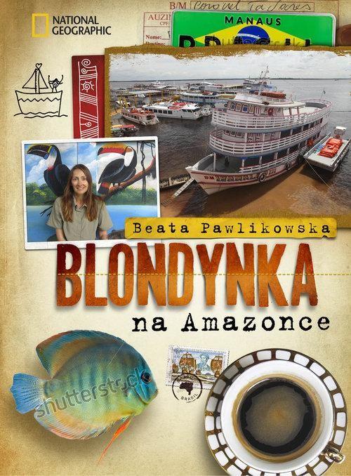 okładka Blondynka na Amazonce, Książka | Beata Pawlikowska