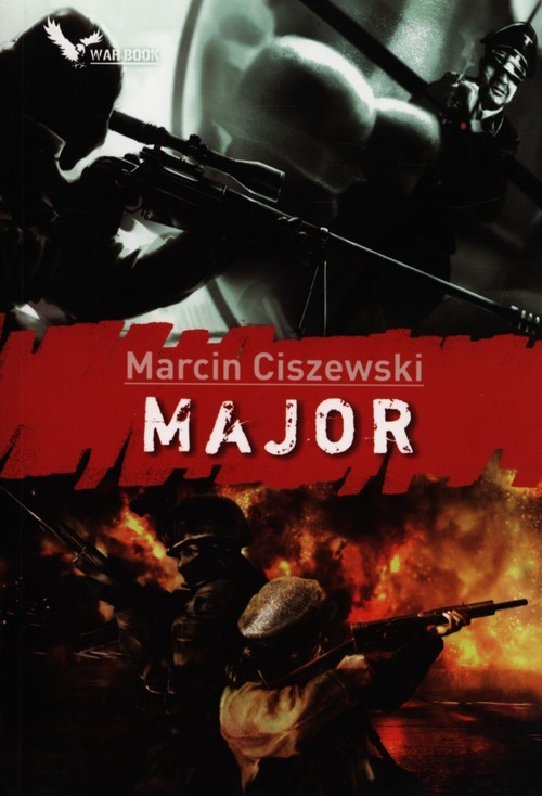 okładka Major książka      Ciszewski Marcin