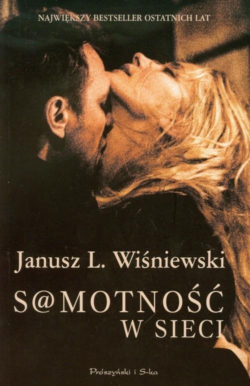 okładka Samotność w sieci, Książka | Janusz Leon Wiśniewski