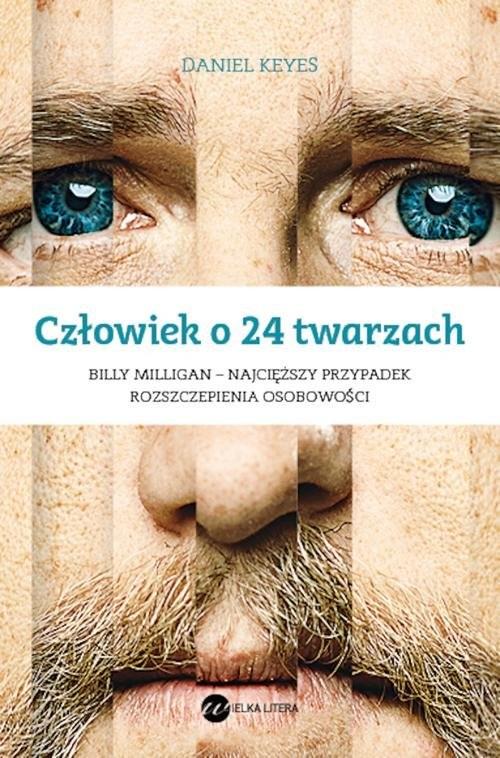 okładka Człowiek o 24 twarzach, Książka | Keyes Daniel