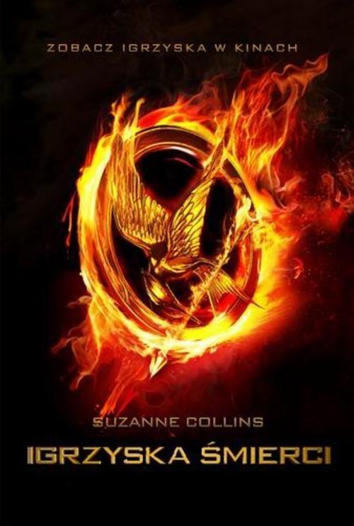 okładka Igrzyska śmierci  , Książka | Collins Suzanne